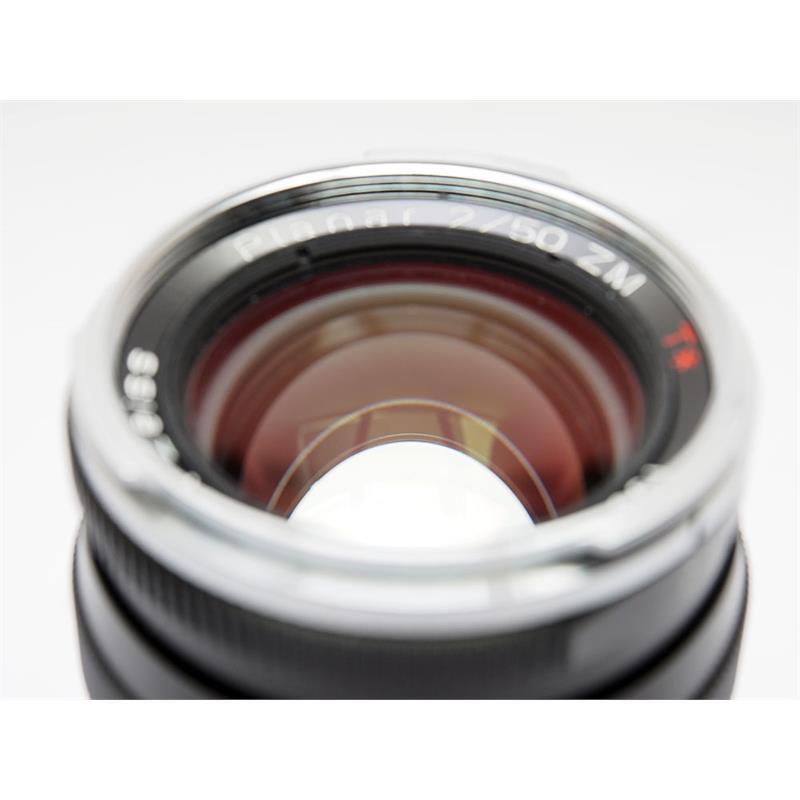 Zeiss 50mm F2 ZM - Black Thumbnail Image 1