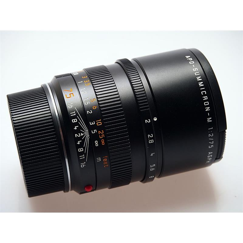 Leica 75mm F2 Apo M Black 6bit Thumbnail Image 0