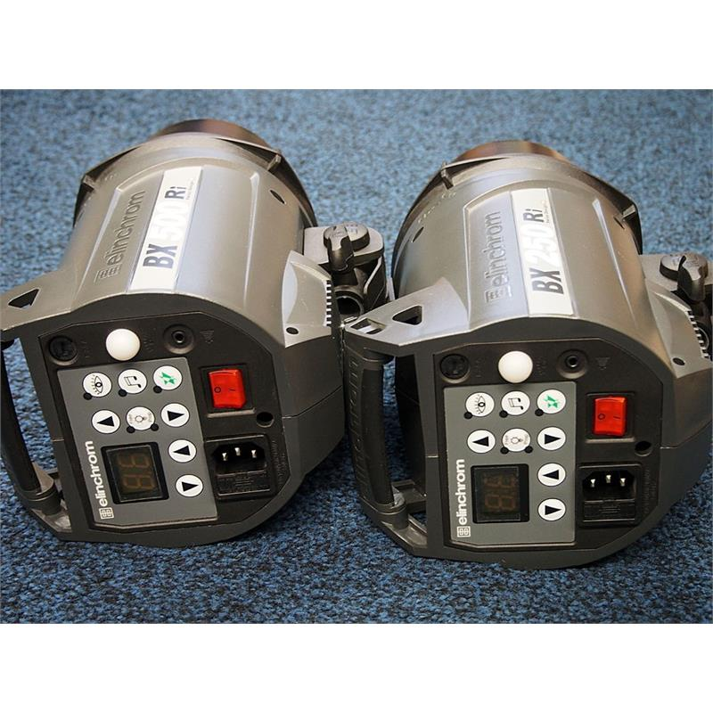 Elinchrom BX250Ri + BX500RI Two Head Kit Thumbnail Image 2