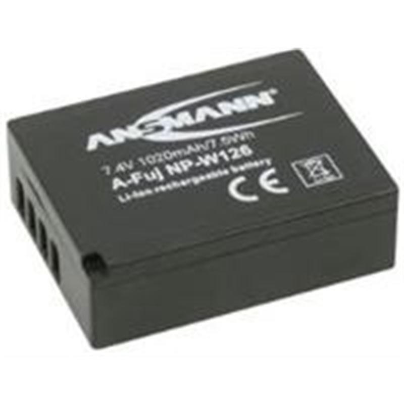 Ansmann NPW126 Battery for Fujifilm Thumbnail Image 0