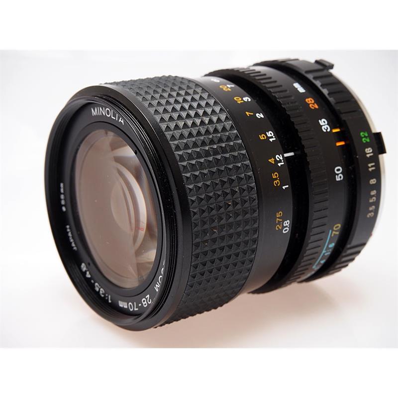 Minolta 28-70mm F3.5-4.8 MD Thumbnail Image 0