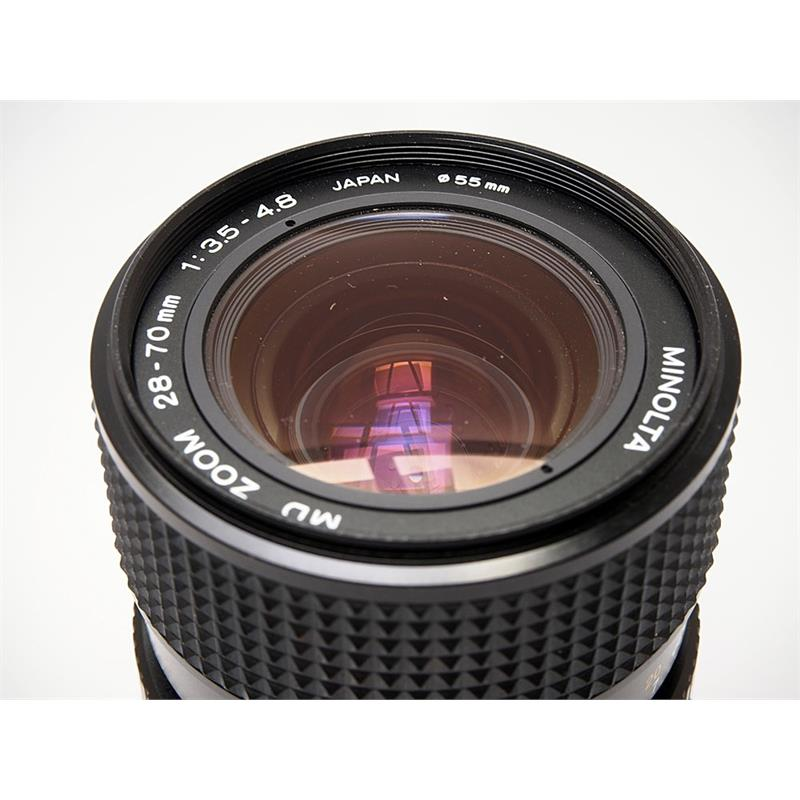 Minolta 28-70mm F3.5-4.8 MD Thumbnail Image 2
