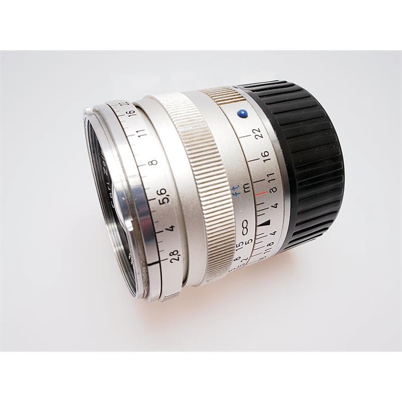 Zeiss 28mm F2.8 ZM - Chrome Thumbnail Image 0