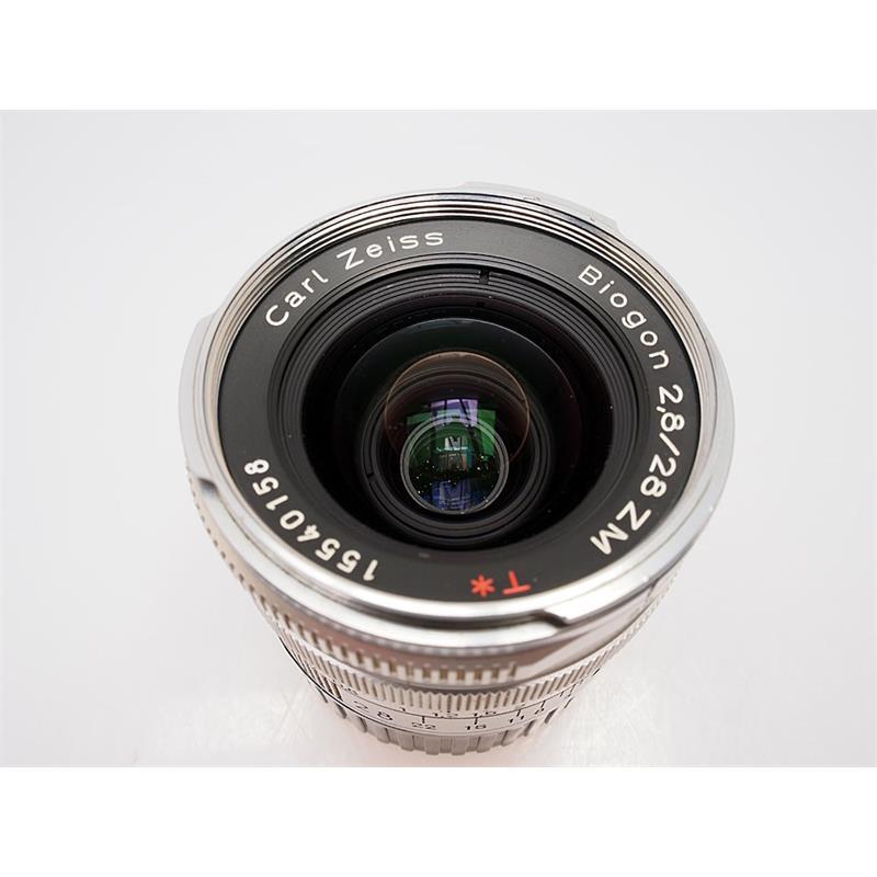 Zeiss 28mm F2.8 ZM - Chrome Thumbnail Image 1