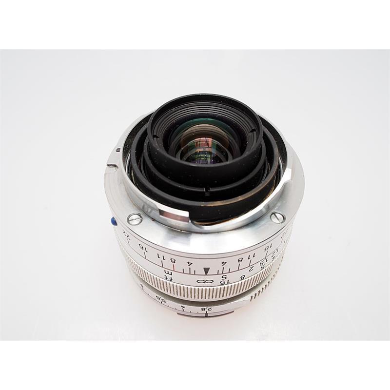 Zeiss 28mm F2.8 ZM - Chrome Thumbnail Image 2