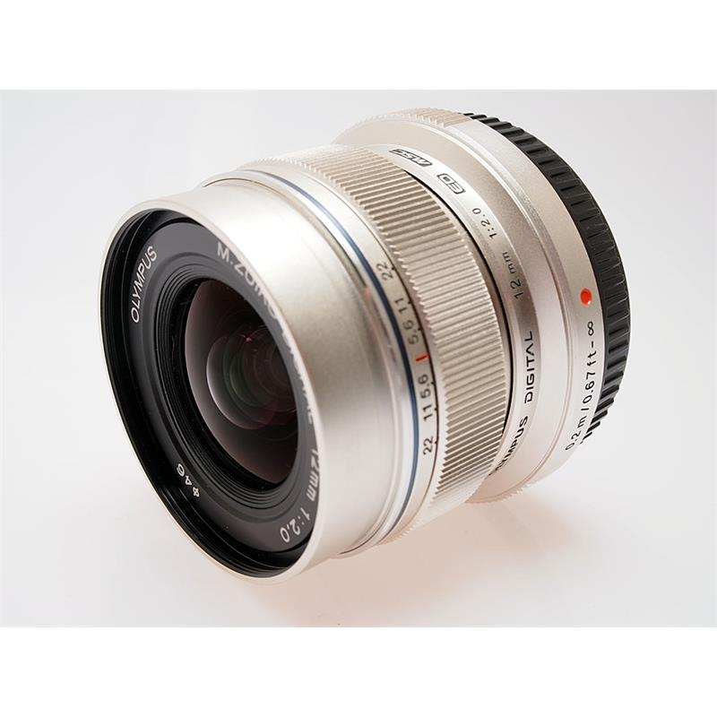 Olympus 12mm F2 ED M.Zuiko - Silver Thumbnail Image 0