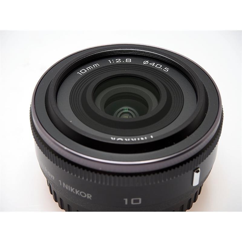 Nikon 10mm F2.8 RF - Black Thumbnail Image 1