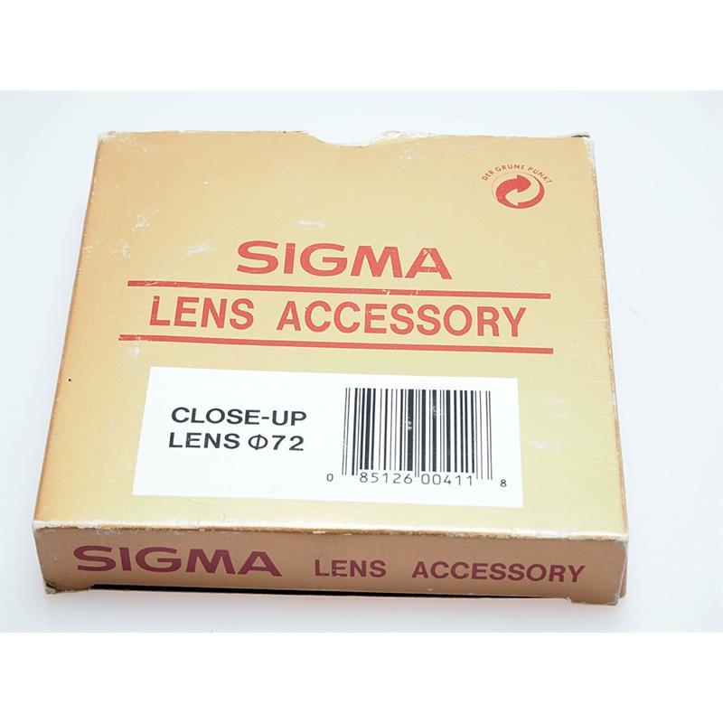 Sigma 72mm Close Up Filter Thumbnail Image 1