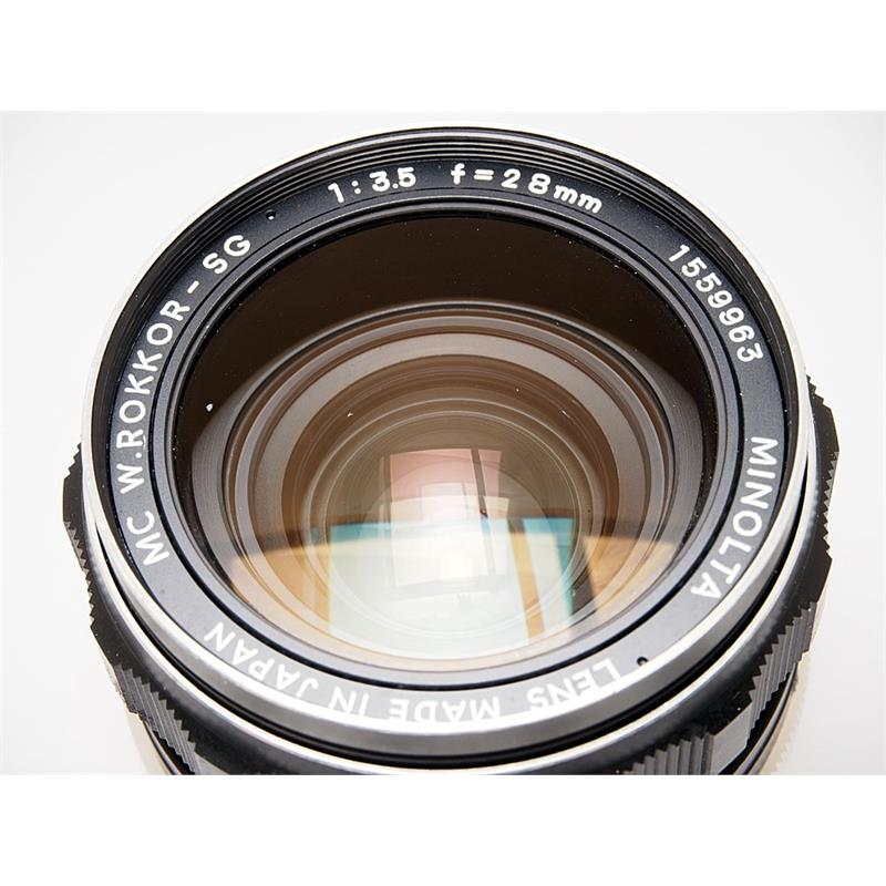 Minolta 28mm F3.5 MC SG Thumbnail Image 1