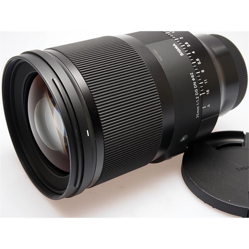 Sigma 35mm F1.2 DG DN Art - Sony E Thumbnail Image 0