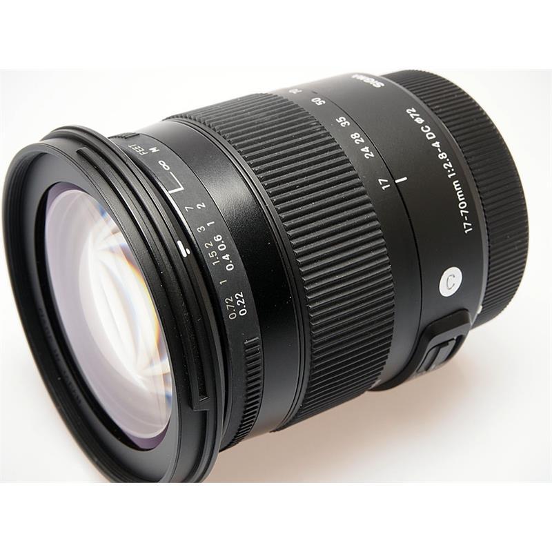 Sigma 17-70mm F2.8-4 DC OS Macro HSM C - Canon Thumbnail Image 0