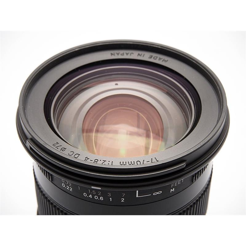 Sigma 17-70mm F2.8-4 DC OS Macro HSM C - Canon Thumbnail Image 1