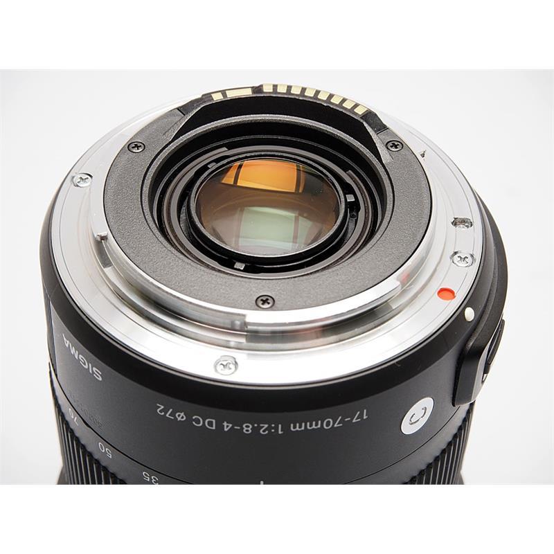 Sigma 17-70mm F2.8-4 DC OS Macro HSM C - Canon Thumbnail Image 2