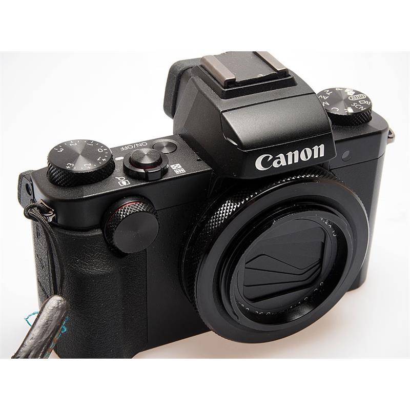 Canon Powershot G5x - Black Thumbnail Image 0