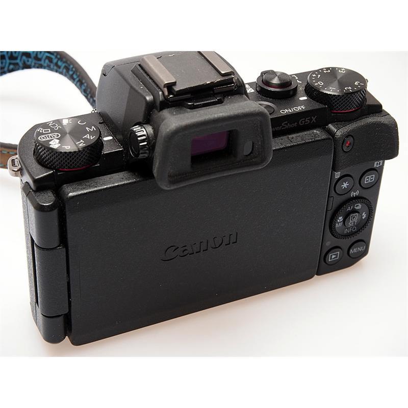 Canon Powershot G5x - Black Thumbnail Image 1