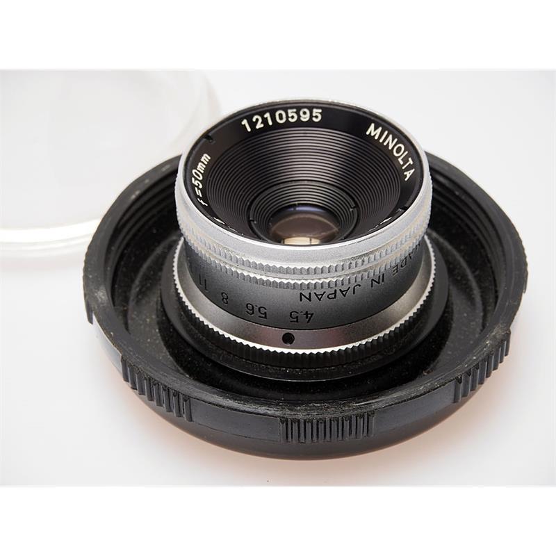 Minolta 50mm F4.5 E Rokkor Thumbnail Image 0