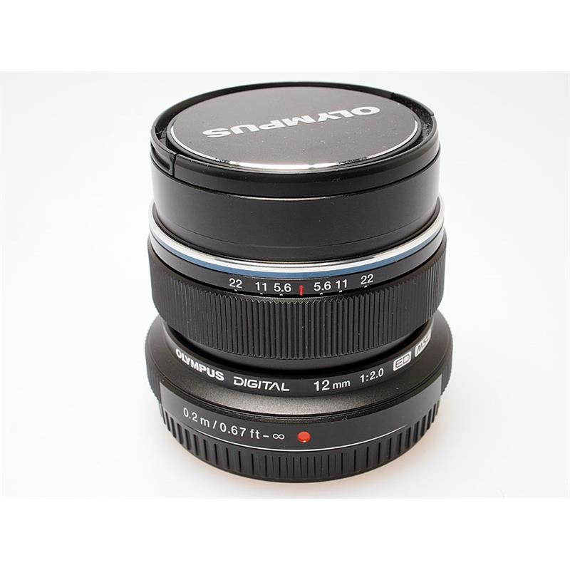 Olympus 12mm F2 ED M.Zuiko - Black Thumbnail Image 0