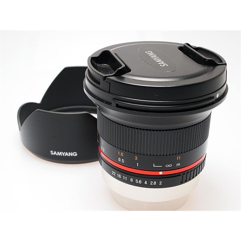 Samyang 12mm F2 NCS CS Black - Fujifilm X Thumbnail Image 0