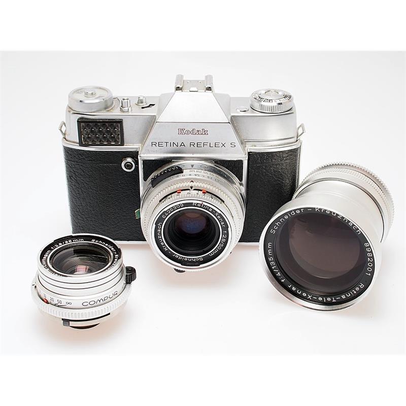 Kodak Retina Reflex S + 35mm f2.8, 50mm f2.8,  Thumbnail Image 0