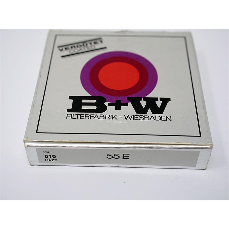 B+W 55mm UV - Single Coated Thumbnail Image 1