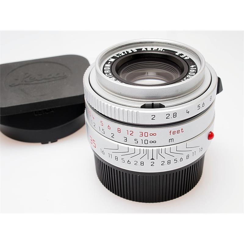 Leica 35mm F2 Asph M Chrome (11674) Thumbnail Image 0