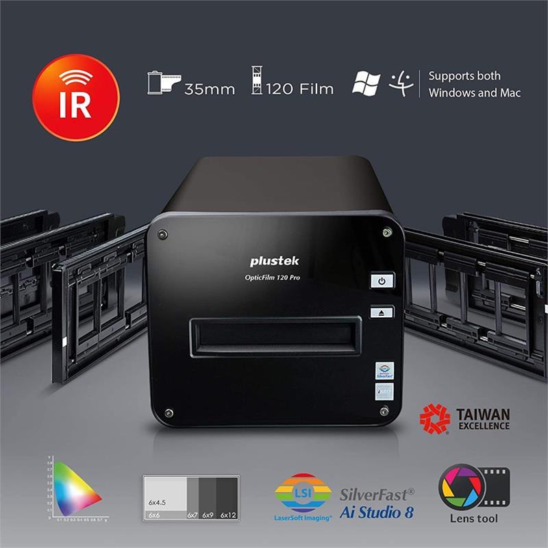 Plustek OpticFilm 120 Pro Scanner Thumbnail Image 0