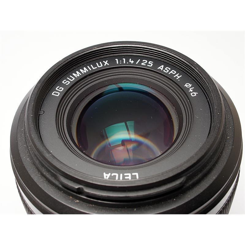 Panasonic 25mm F1.4 DG Summilux Thumbnail Image 1