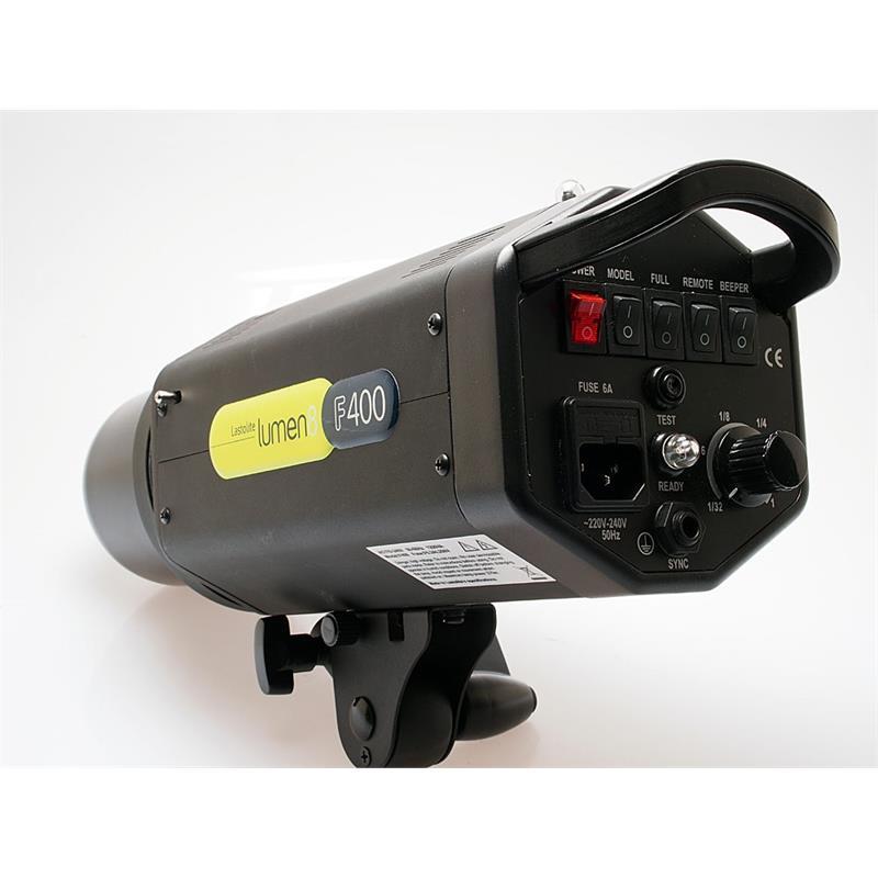 Lastolite Lumen 8 F400 Two Head Flash Kit Thumbnail Image 1