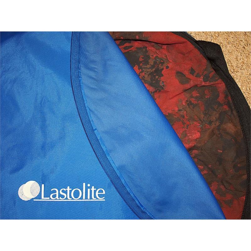 Lastolite 1.8m x 1.3m Mottled Red/Black Background Image 1