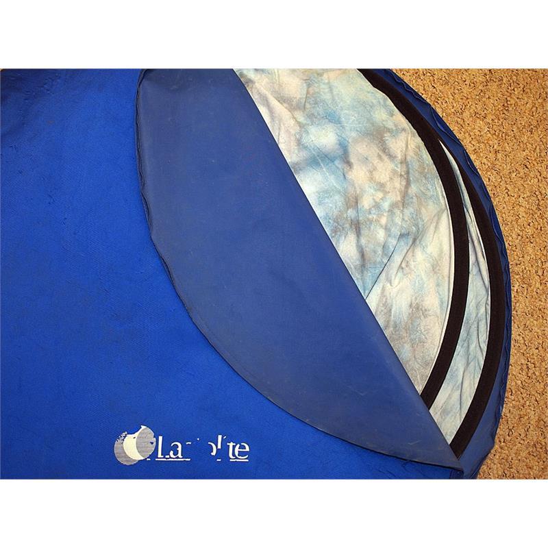 Lastolite 1.8m x 1.3m Mottled Grey/Blue Background Image 1