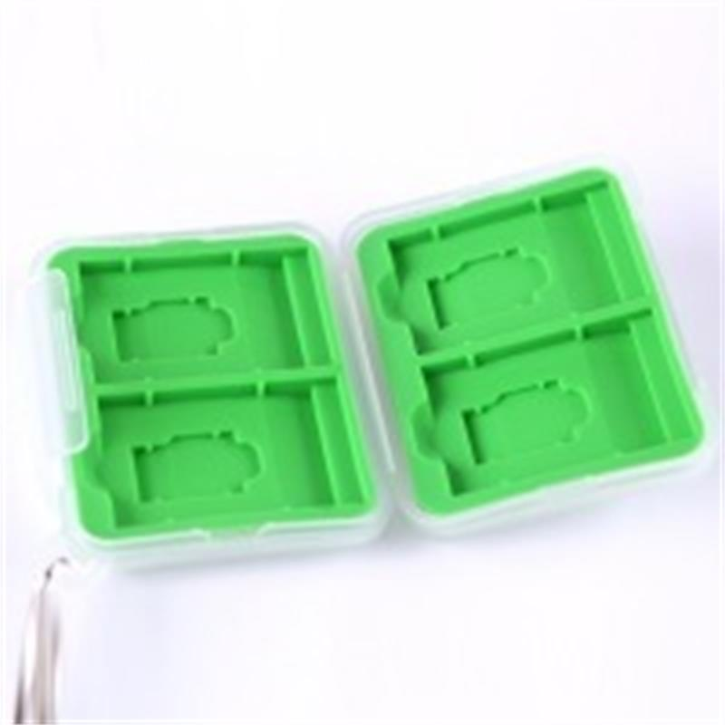 Summit Memory Card Case for SD & MICRO-SD Cards - Green  Thumbnail Image 2