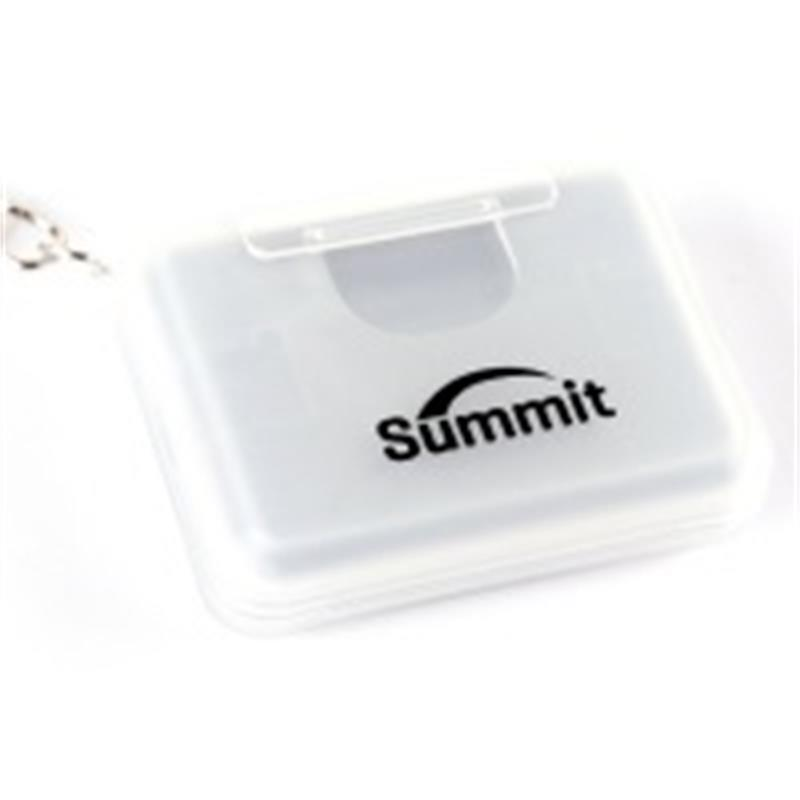 Summit Memory Card Case For SD & MICRO-SD Cards - Grey          Thumbnail Image 1