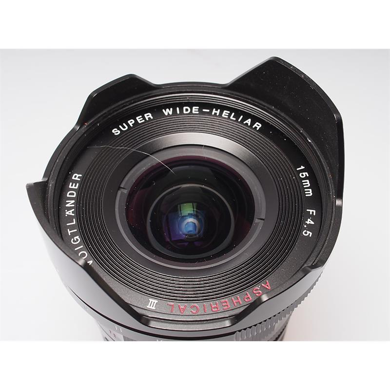 Voigtlander 15mm F4.5 VM III Thumbnail Image 1