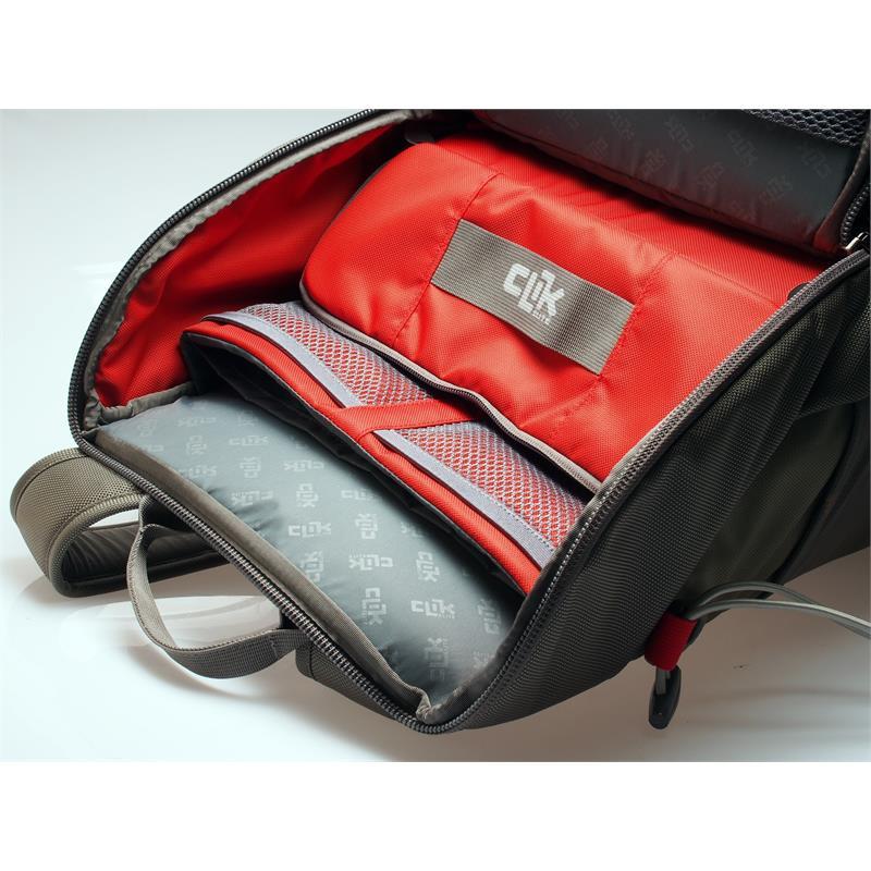 Clik Elite Elite Backpack - Grey/Green Thumbnail Image 1