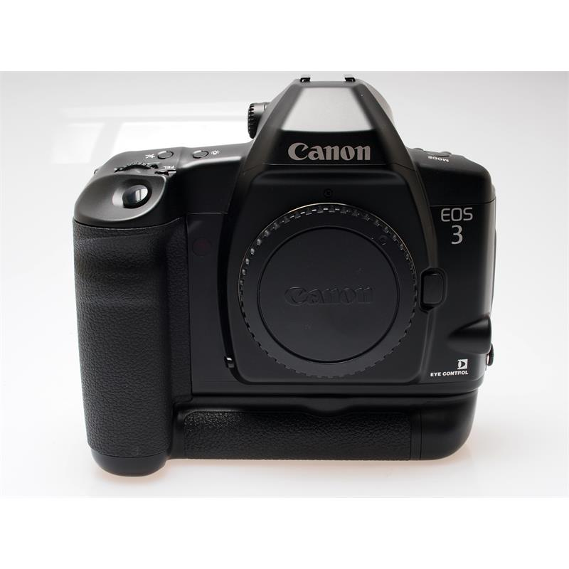 Canon EOS 3 + BP-E1 Battery Grip Thumbnail Image 0