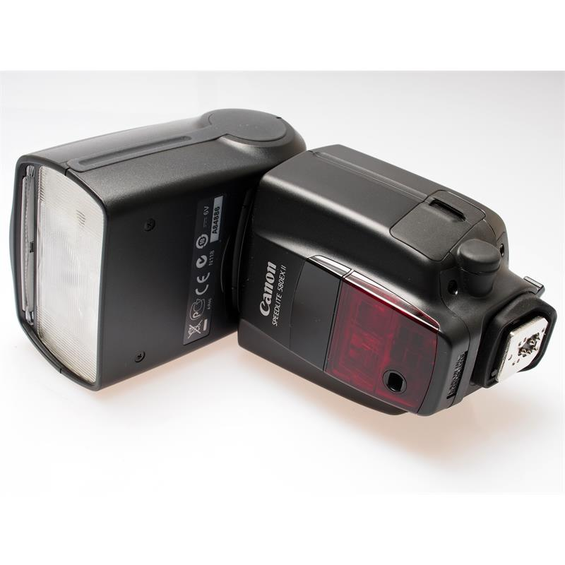 Canon 580EX II Speedlite + OC-E3 Shoe Cord Thumbnail Image 0
