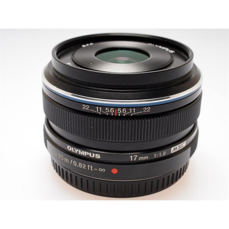 Olympus 17mm F1.8 M.Zuiko Black Thumbnail Image 0