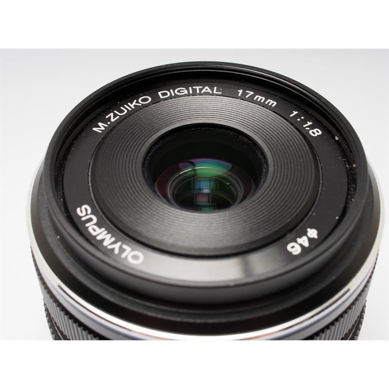 Olympus 17mm F1.8 M.Zuiko Black Thumbnail Image 1