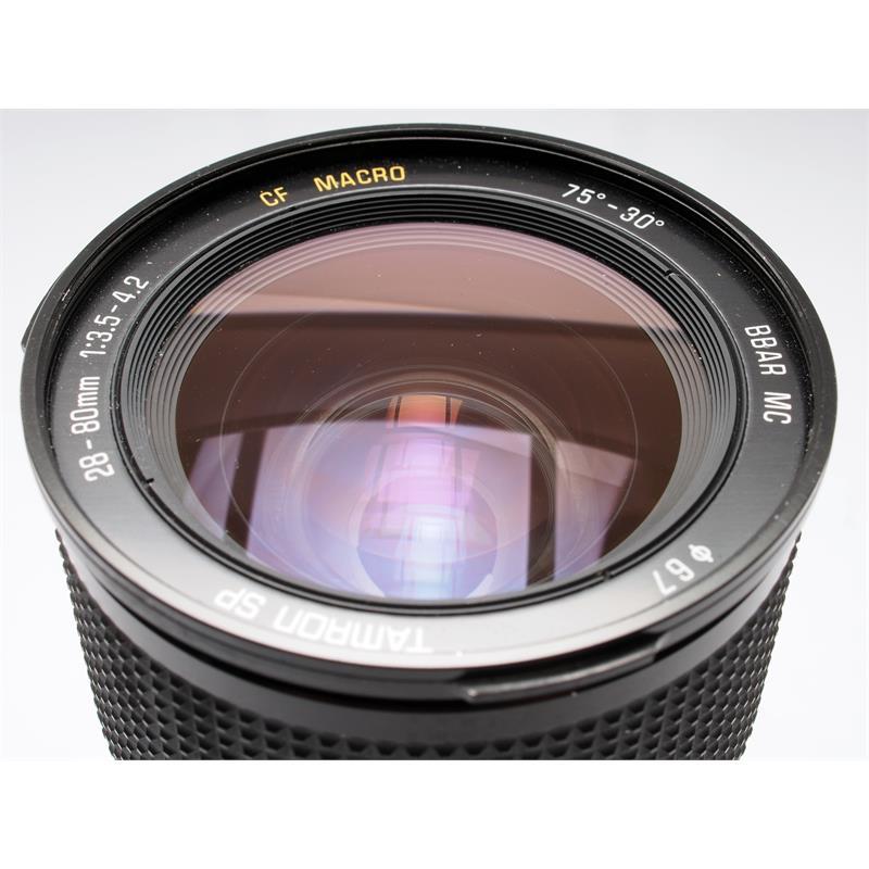 Tamron 28-80mm F3.5-4.2 CF - Canon FD Thumbnail Image 1