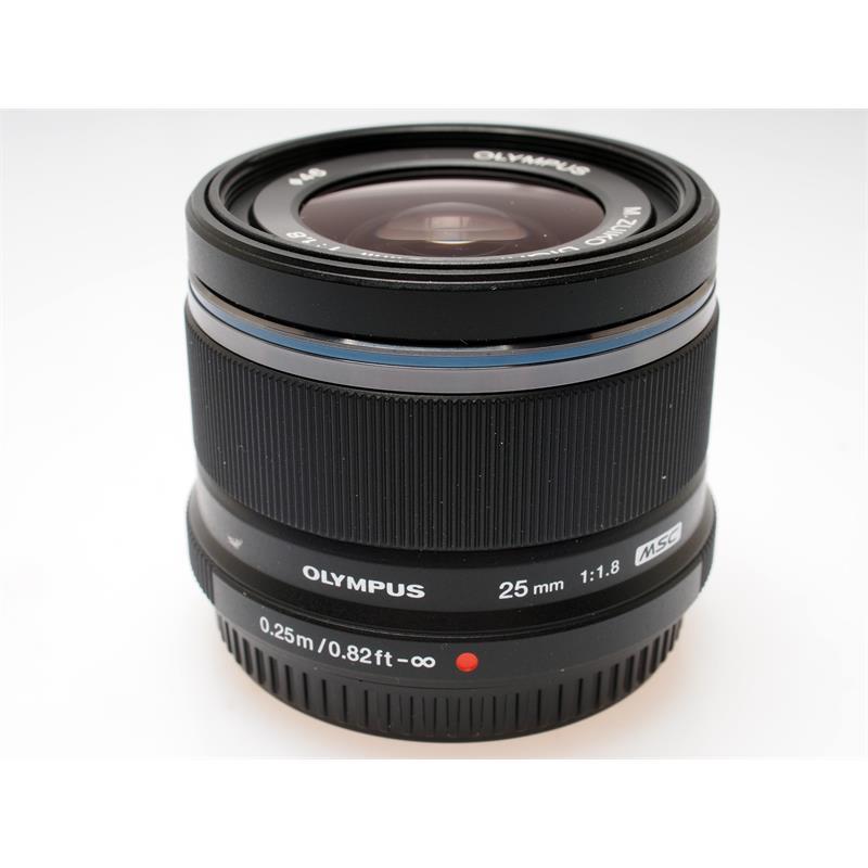 Olympus 25mm F1.8 M.Zuiko - Black Thumbnail Image 0