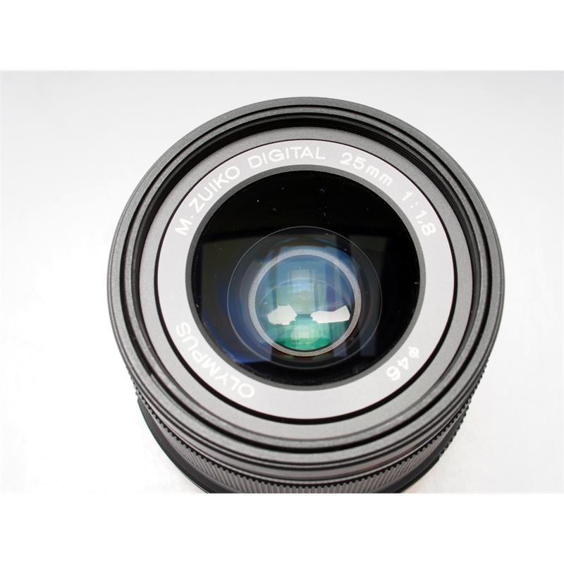 Olympus 25mm F1.8 M.Zuiko - Black Thumbnail Image 1
