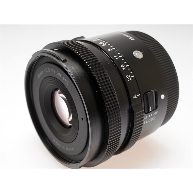 Sigma 45mm F2.8 DG DN Contemporary - Sony E Thumbnail Image 0