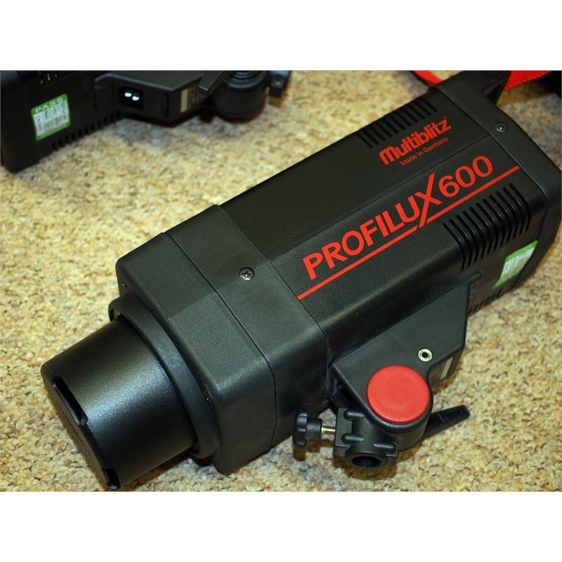 Multiblitz Profilux 600 Two Head Kit Thumbnail Image 1