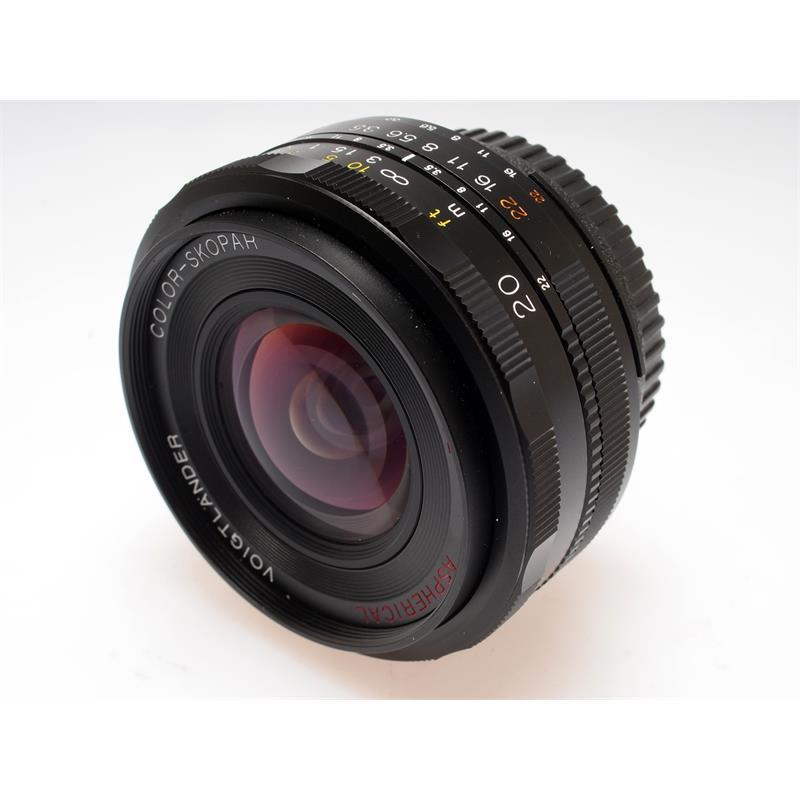 Voigtlander 20mm F3.5 Color Skopar SLII AI-s Thumbnail Image 0