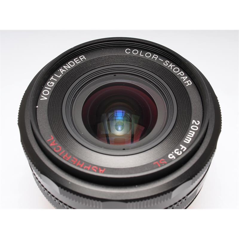 Voigtlander 20mm F3.5 Color Skopar SLII AI-s Thumbnail Image 1