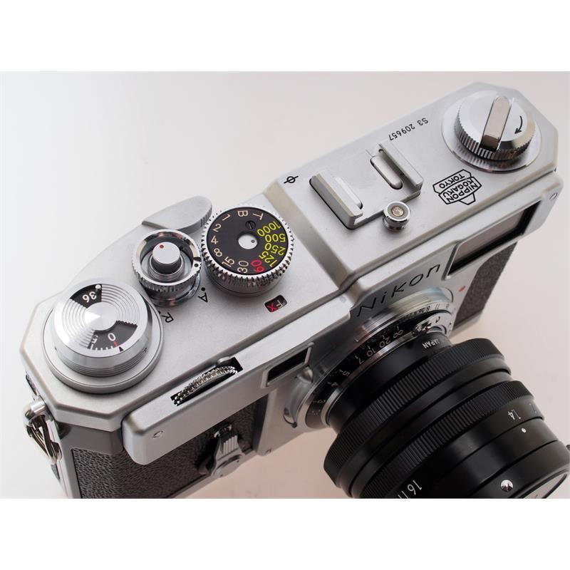 Nikon S3 Millennium + 50mm F1.4 Thumbnail Image 1