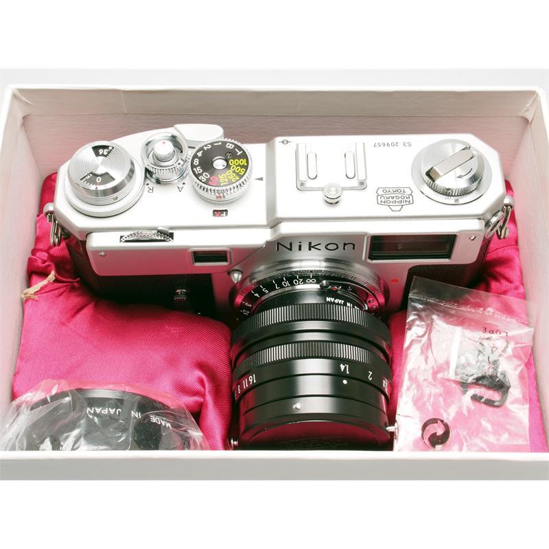 Nikon S3 Millennium + 50mm F1.4 Thumbnail Image 3