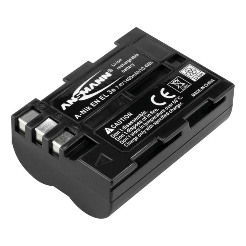 Ansmann EN-EL3e Battery - fits Nikon Thumbnail Image 0