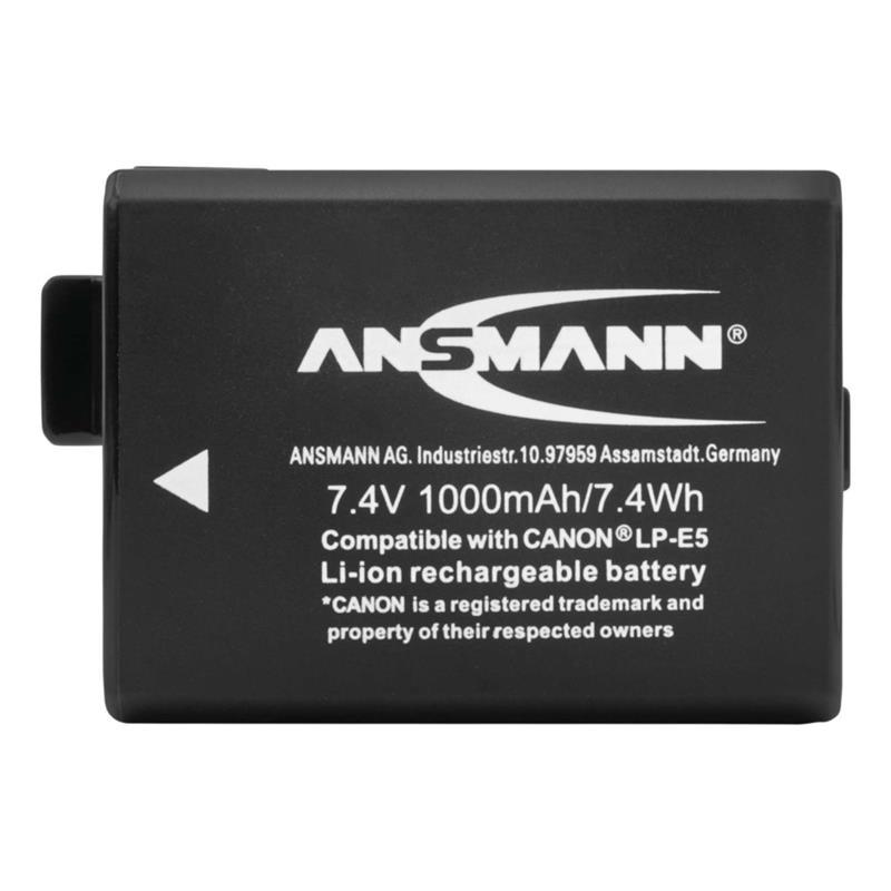 Ansmann LP-E5 Battery - fits Canon Thumbnail Image 1