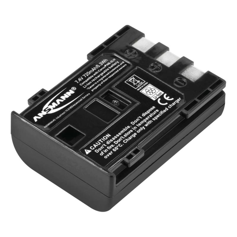 Ansmann NB-2LH Battery - fits Canon Thumbnail Image 0